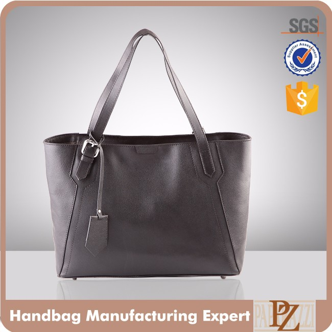 5597-high quality PU leather case and bags manufacturer fashion tote handbags for women
