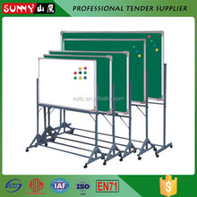 Alminum alloy standard size white board with roller