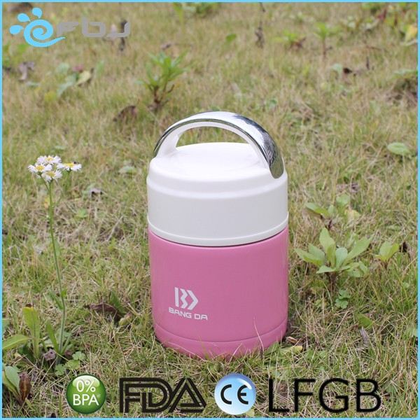~ Plastic Airtight 500ml insulated food container with Lids Wholesale