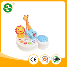 B/O Plastic Musical Education Baby toy Music Box toy with light