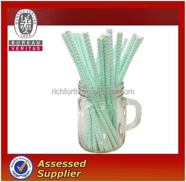 paper drinking straw ripple design