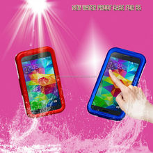 2014 new fashion colorful plastic phone waterproof case for Samsung Galaxy s5