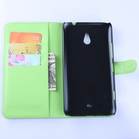 New latest leather flip case for nokia lumia 1320