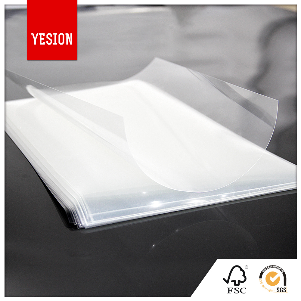 Yesion Wholesale Water Based Inkjet Printing Backlit PET Film, Inkjet Transparency PET Film