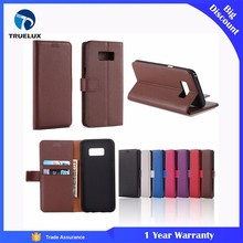 Fast Shipping Leather Wallet Case for Samsung Galaxy S4 Litchi Pattern PU Case