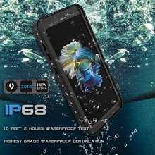 waterproof cell phone cover water proof mobile phone case for sumsang galaxy s9
