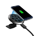 Qi Standard vacuum suction Sticky Car Wireless Charger Charging Pad