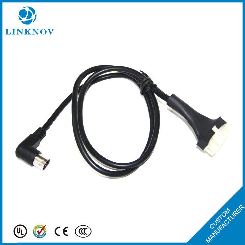 Custom Car Data Transmission Wire Harness Audio&Video Device Connecting Wire Harness