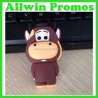 Customized Cute Character USB Flash Drive