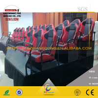 3d 4d 5d cinema equipment 6d cinema theater movie motion chair seat