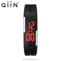 LED Silicone Rubber Touch Screen Digital Watch, LED Wristwatch AD8088
