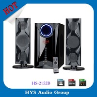 Professional tower 2.1 multimedia speaker with remote control