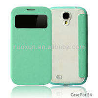 OEM customized for samsung galaxy s4 i9500 flip case cover
