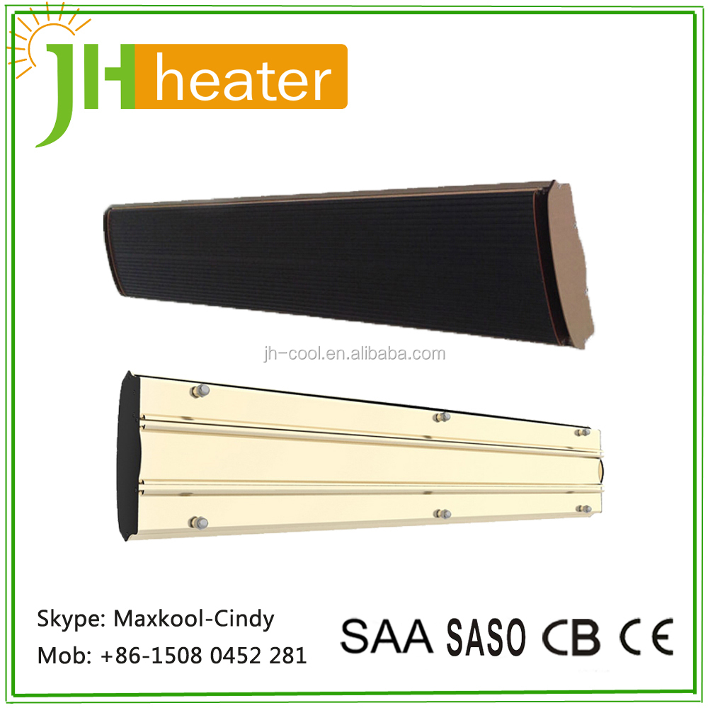 Electric Infrared Radiant Heater 2400W Wall Mounted Oil Radiator Heater