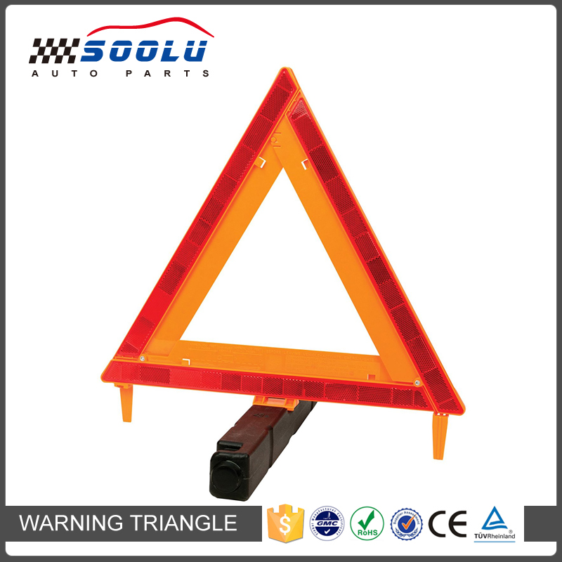 Emergency Warning Reflective Safety Triangle Kit For Vehicles and Trucks