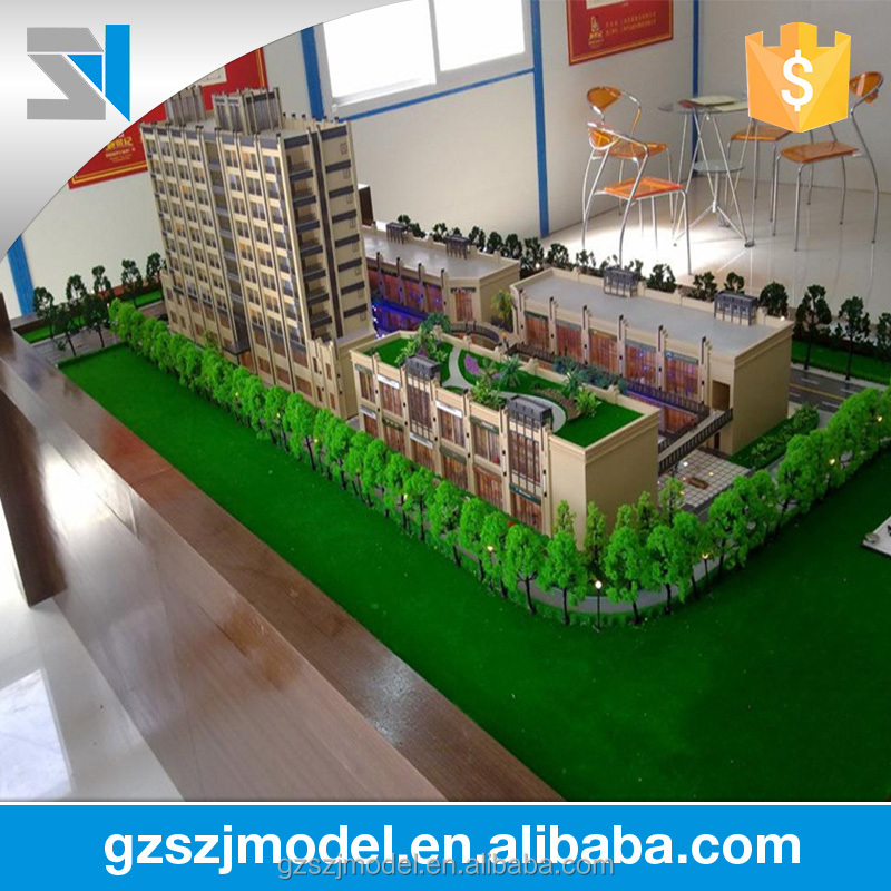 3d architectural drawings, model houses, architectural scale models