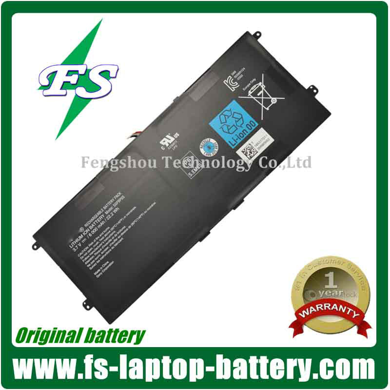 New model Original Laptop battery SGPBP03 for Sony Xperia Tablet Z notebook batteries