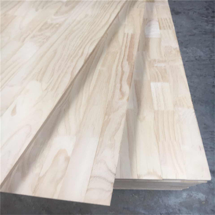 18mm white pine finger jointed board