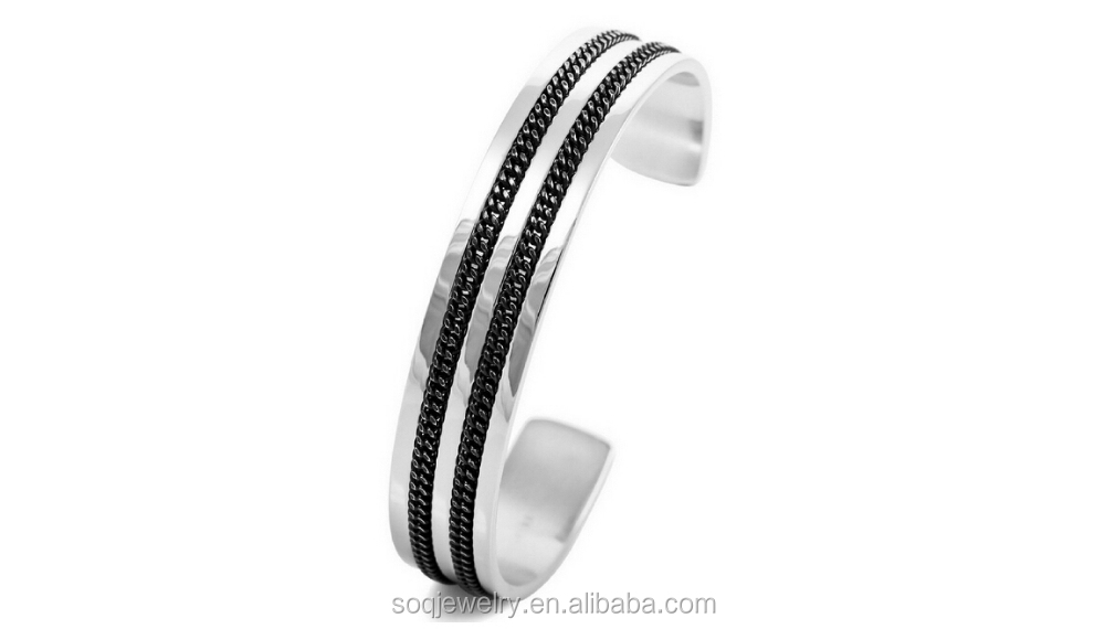 latest popular style wholesale fashion bangles metal jewelry trends