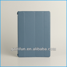 Dusty blue leather book laptop thin case made in china