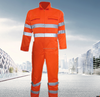 European standard fire retardant safety warning coverall