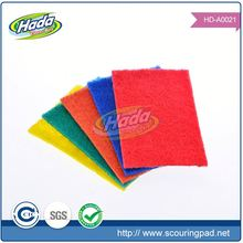 Durable non scratch cleaning pad cloth