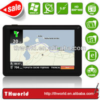 Wholesale Checkout 5 inch New Zealand map car gps model no. K50 with MSB 2531 CPU 800MHz 4GB Memory