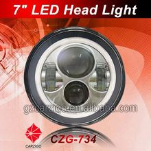 "Guangzhou manufacturer IP68 water proof 7"" halo headlight for motorcycle"
