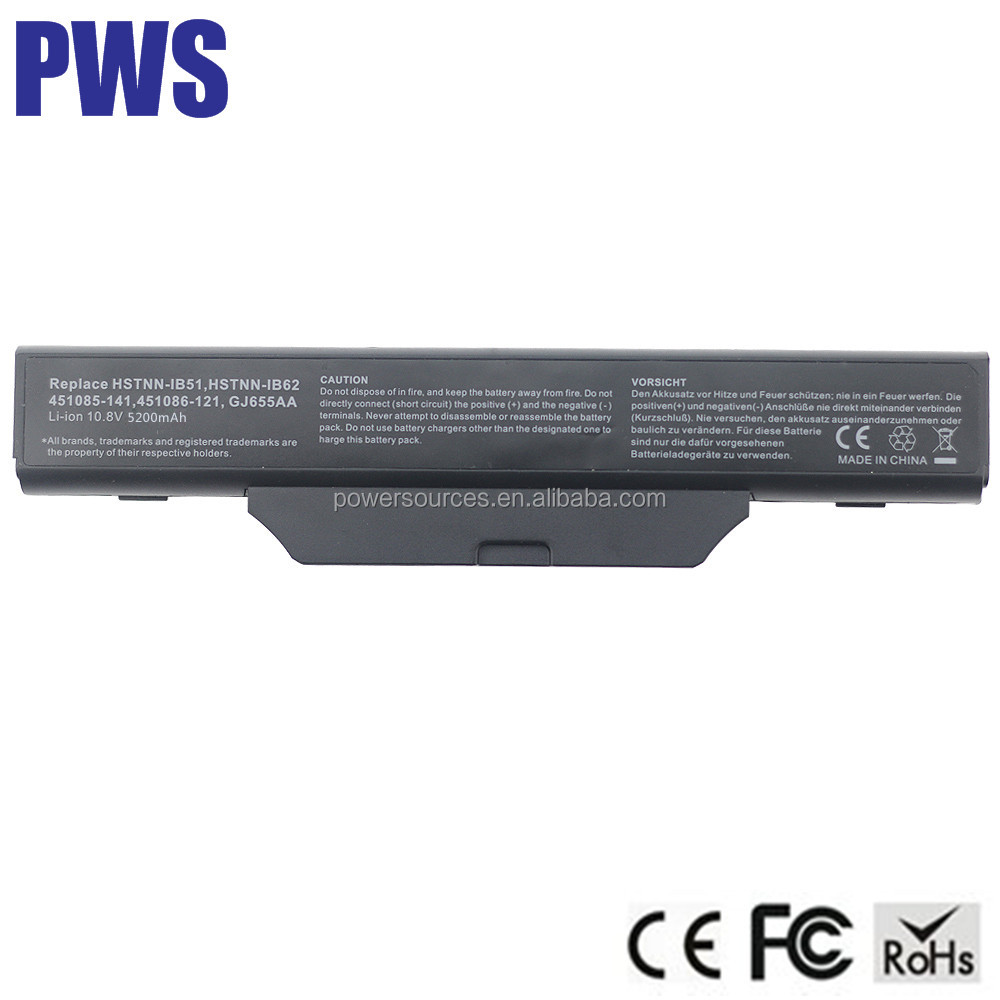 Laptop Battery For HP 6820 6720 6720s 6730s 6735s 6820s 6830 451085-141 451086-121 451086-161