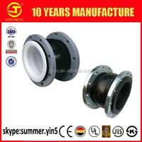 RJ-SY-623 Rubber bridge expansion flexible Joint EPDM/NBR/PTFE Rubber with WCB stainless steel flange sheet DN50-3000