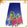Wholesale Discount 100% poly spun rayon printed embroidery fabric lace SN270