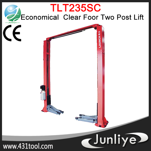 Portable and durable LAUNCH TLT235SC hydraulic small home elevator low profile lift jack equipment price