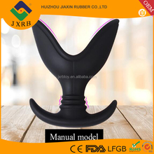 OEM ROHS Vaginal speculum sex toys expand anal vaginal enema sex products for couples silicone adult anal dilator