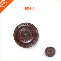 2015 newest pu leather button for fashion bags garments furniture