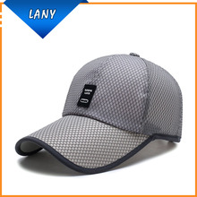 2017 new style long bill mesh trucker cap