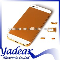 China alibaba wholesale metal back hard cover case for apple iphone 5s