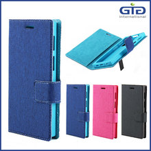 [GGIT] Jean+Silicon Material Universal Smart /Mobile Phone Case with Handle