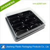 China Supplier 6 Pieces Plastic Macaron Box Packaging, Food Packaging