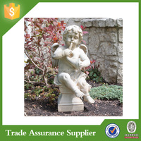 Buy Polyresin angel garden statue cherub sculpture in China on ...
