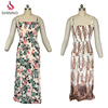 100 RAYON Breathable Summer Printing Women