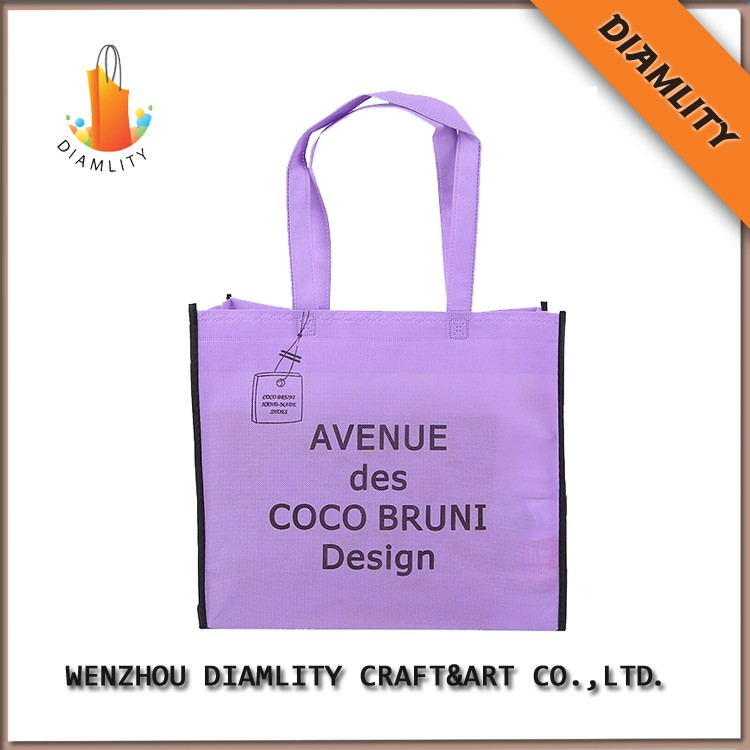 promotional non-woven t-shirt bag in cheap price
