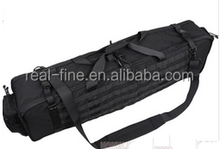Tactical Gun Bag M6 M249 Models Heavy Duty Carry Rifle Case Double Straps Shoulder Pouches