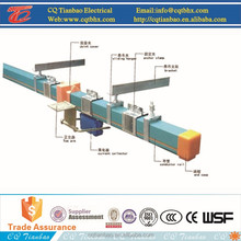 Crane Power Supply Safe Enclosed Copper Electric Bus bar
