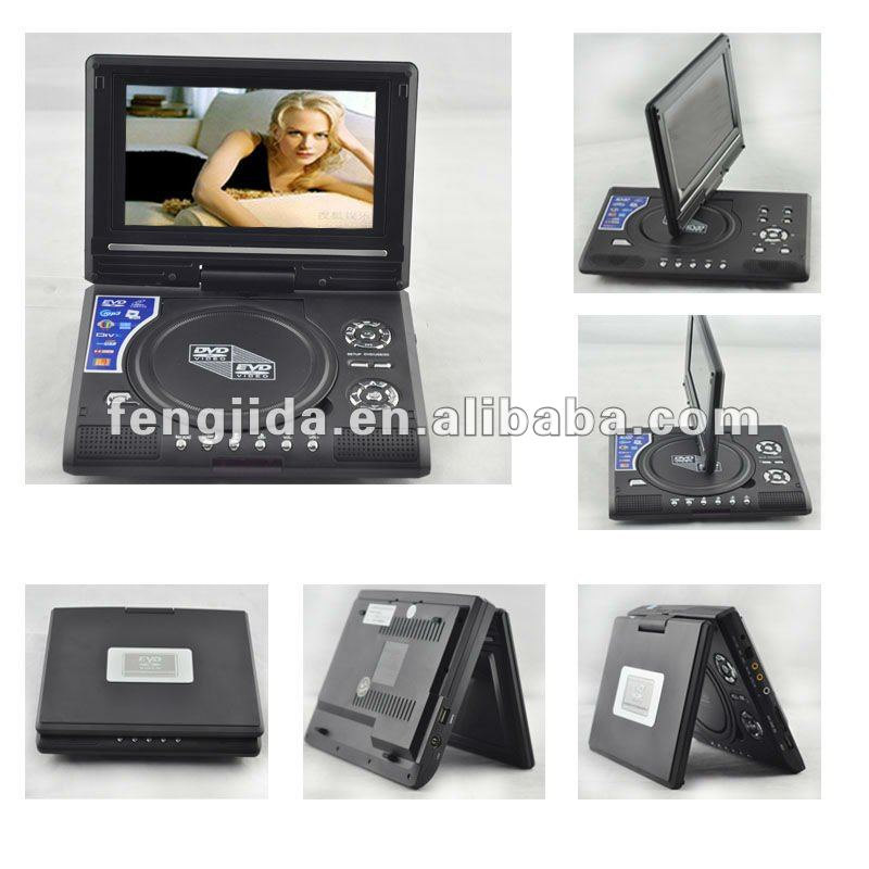 portable hdmi dvd player with audio&video