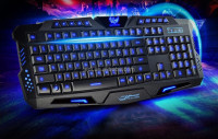 Best selling ergonomic multimedia wired standard game keyboard