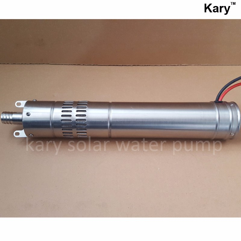 Kary 24v dc submersible screw solar bore water pump for wells