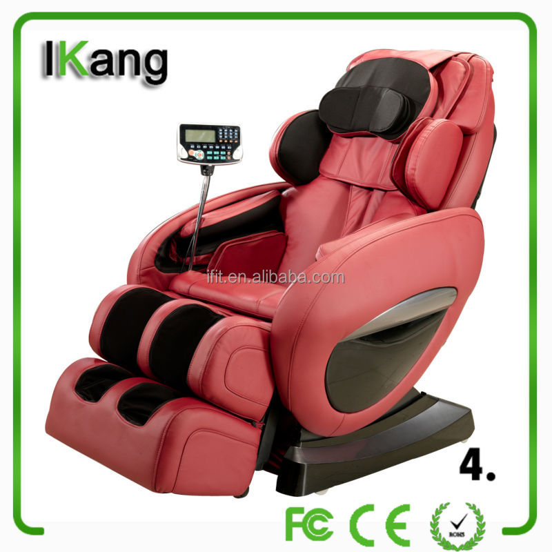 red leather foot sex massage public chair