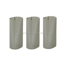 "1-1/2"" 3-3/4"" 50 mesh 304 Stainless Steel Filter Screen In Area Silver"