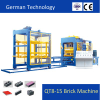 Brick Making machine with Advanced German Technology Produce High Quality Bricks QT8-15