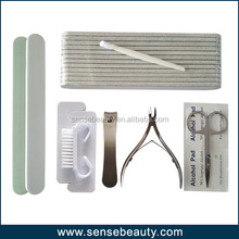 Disposable manicure pedicure kit for salon & spa use
